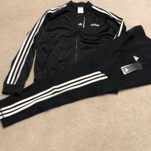 Adidas ladies jacket and leggings size M